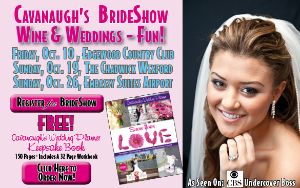 Cavanaugh's Pittburgh Bridal Show Wedding Planning Book